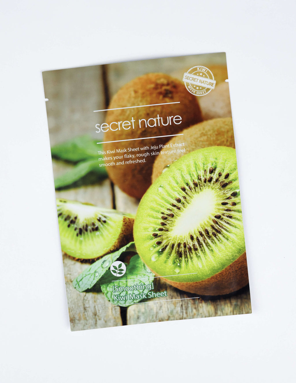 Smoothing Kiwi Mask Sheet 1pc
