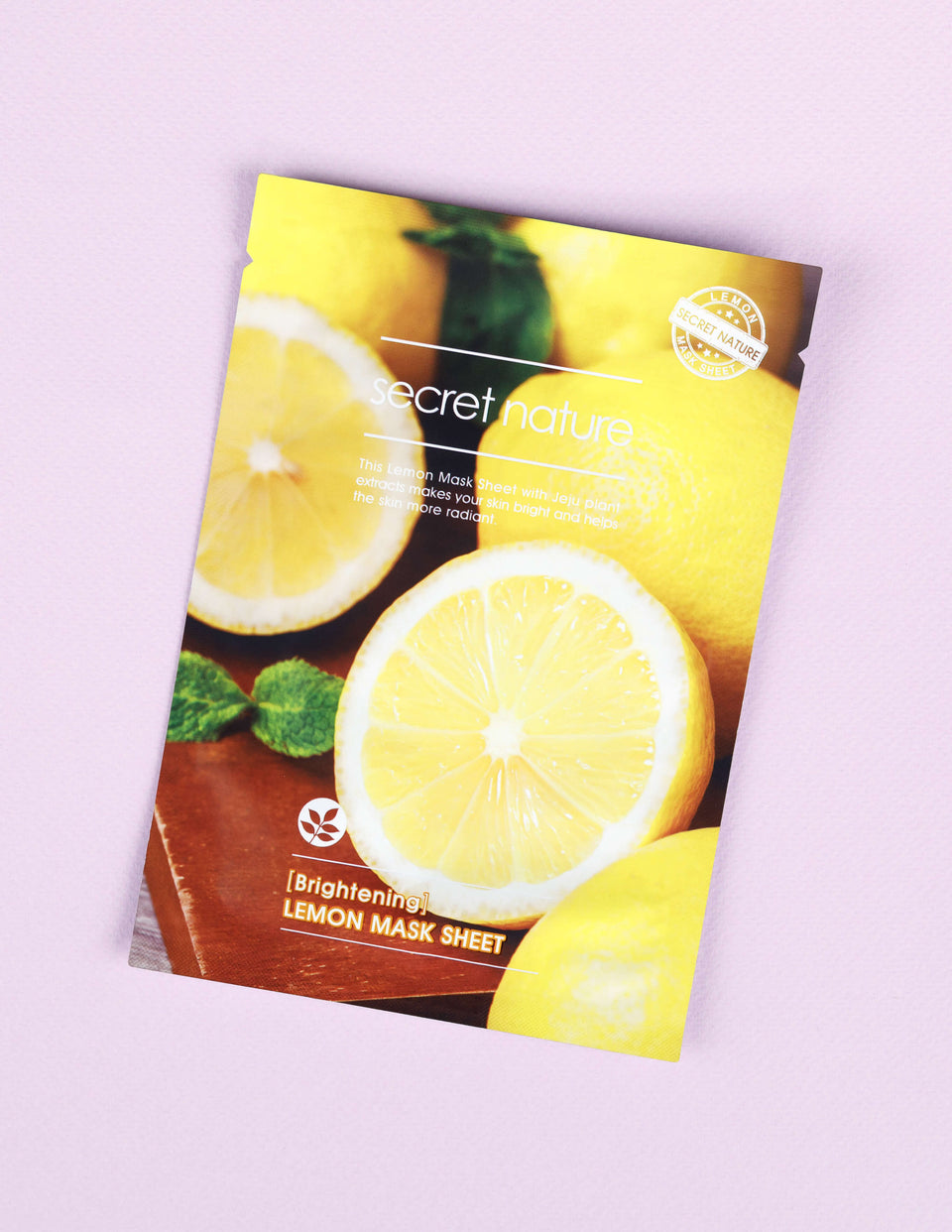 Brightening Lemon Mask Sheet 1pc