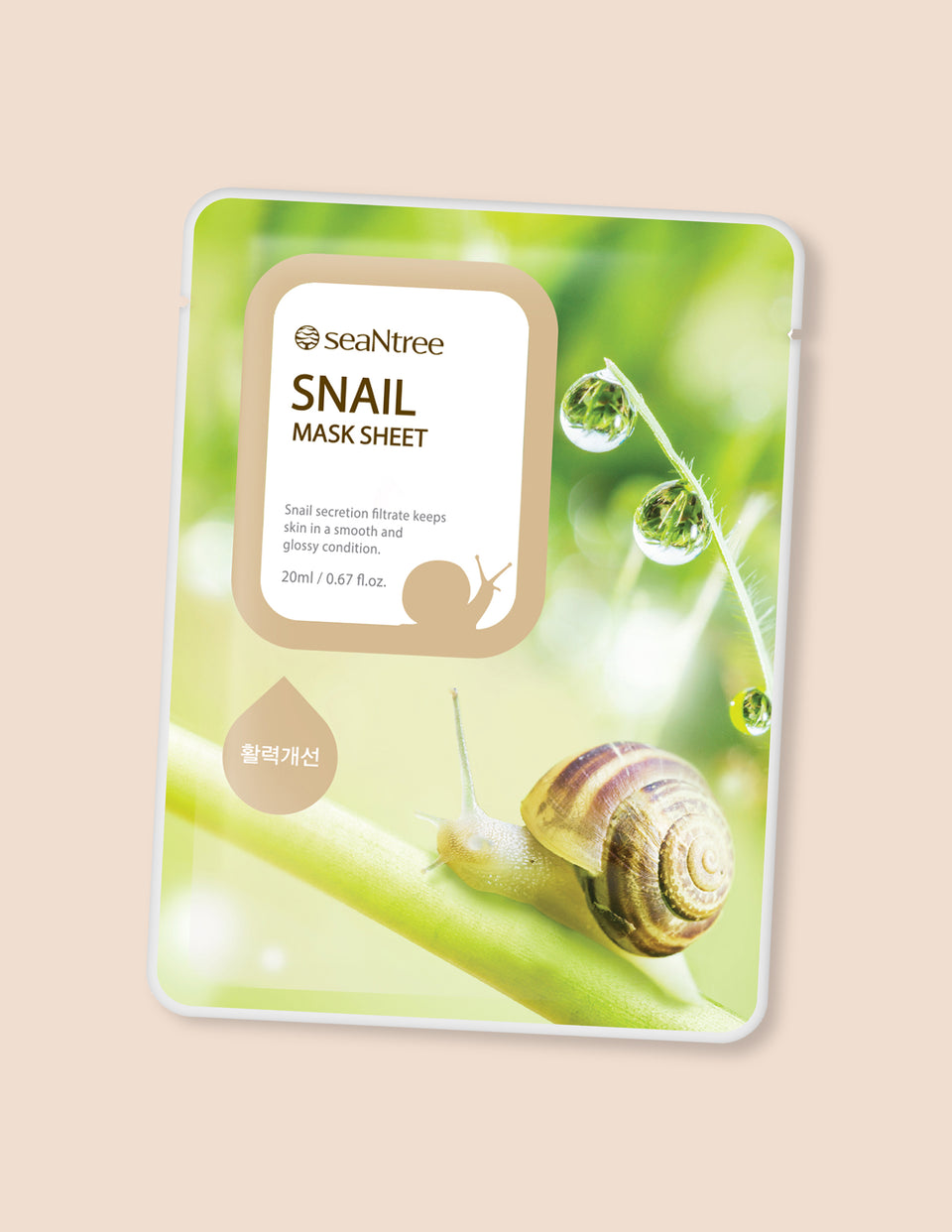 Snail Mask Sheet 1pc