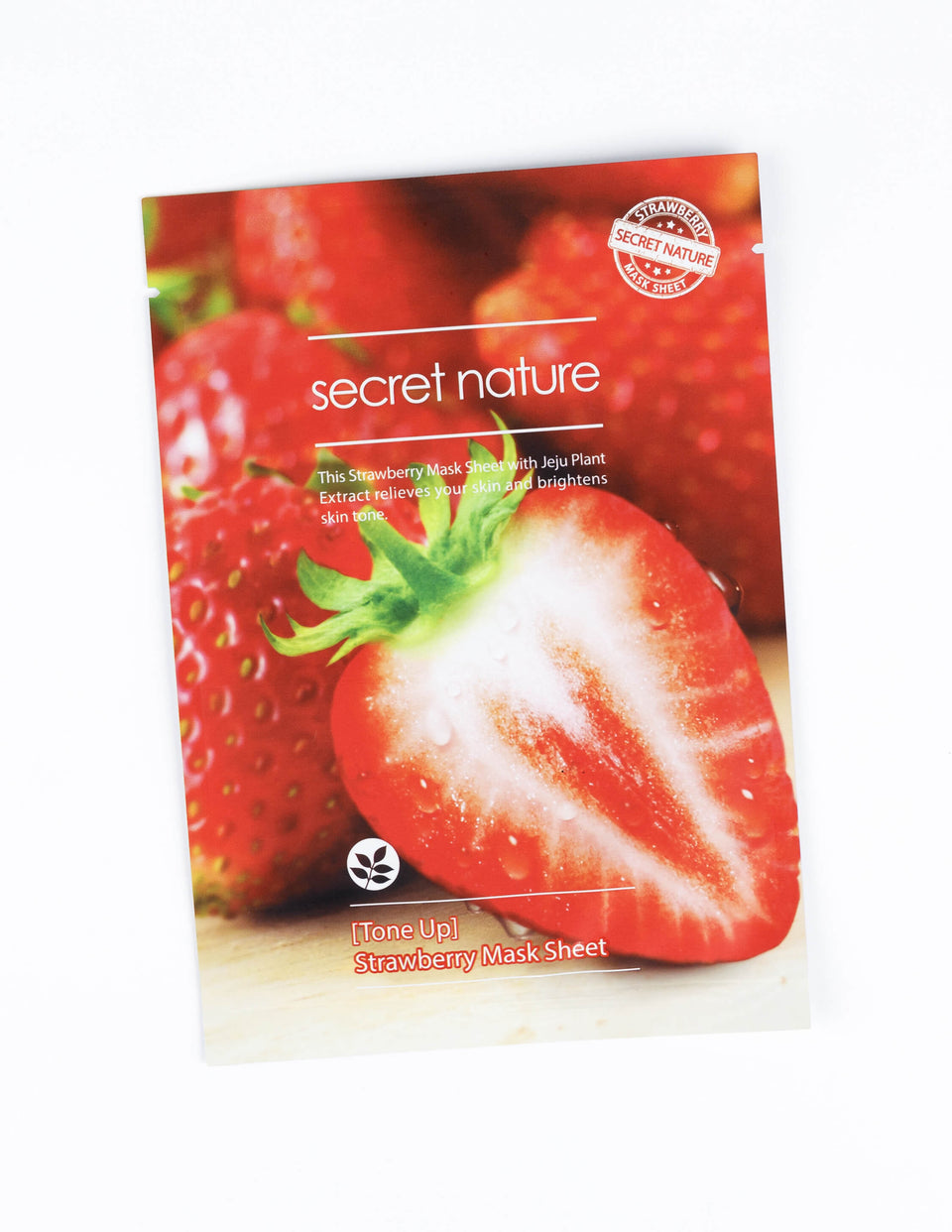 Tone Up Strawberry Mask Sheet 1pc