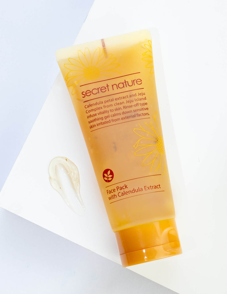 Face Pack with Calendula Extracts 130ml