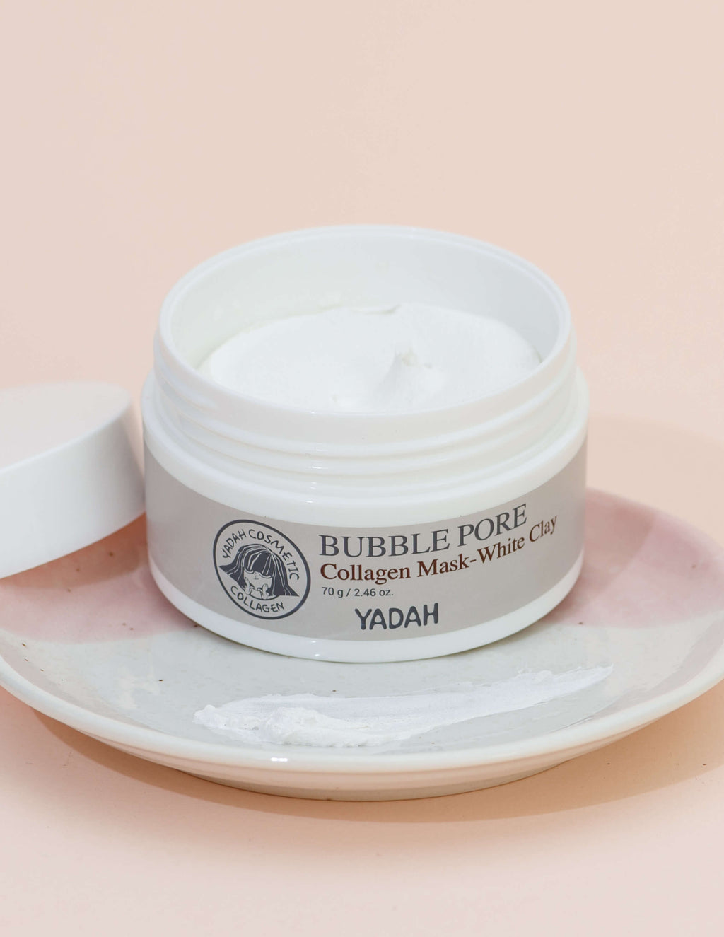 Bubble Pore Collagen Mask - White Clay 70g