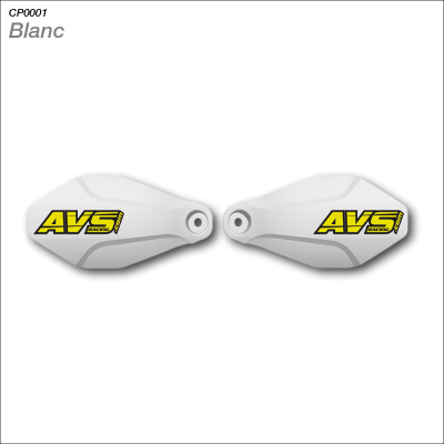 Kit protector de manos AVS KIT BASIC BLANCO