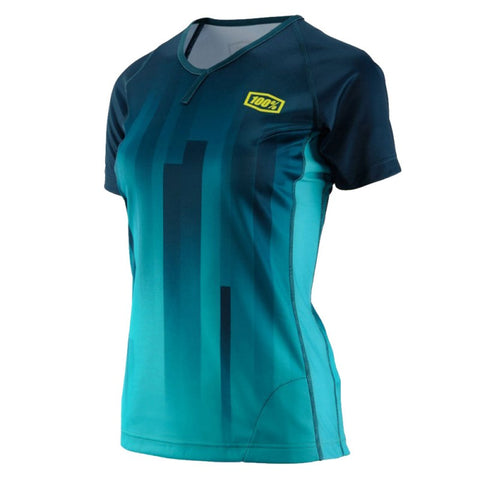 MAILLOT 100% AIRMATIC CHICA (FOREST GREEN)