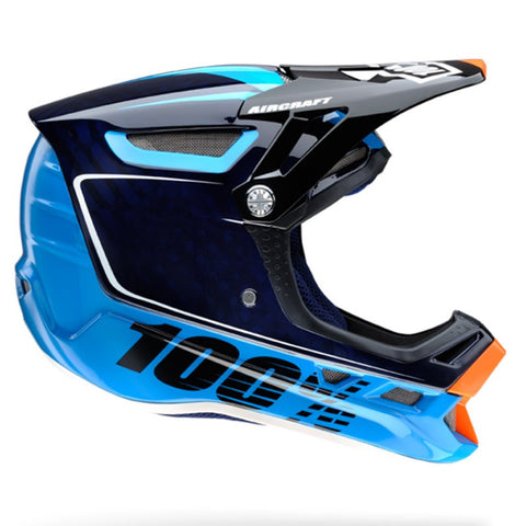 CASCO DESCENSO 100% AIRCRAFT (BI-TURBO BLUE)
