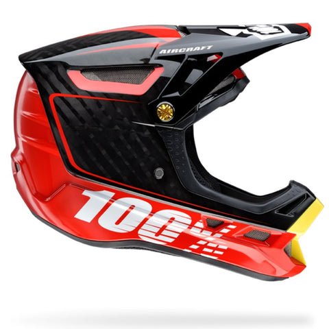 CASCO DESCENSO 100% AIRCRAFT (BI-TURBO RED)