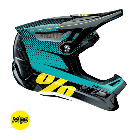 CASCO DESCENSO 100% AIRCRAFT CON MIPS (R-CORE TEAL)