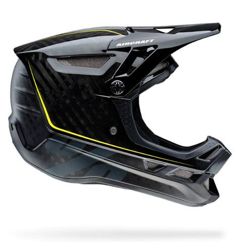 CASCO DESCENSO 100% AIRCRAFT (RAW BLACK)