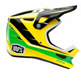 CASCO DESCENSO/BMX/ENDURO 100% STATUS (D-DAY YELLOW)