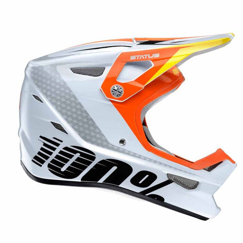 CASCO DESCENSO/BMX 100% STATUS (D-DAY WHITE)