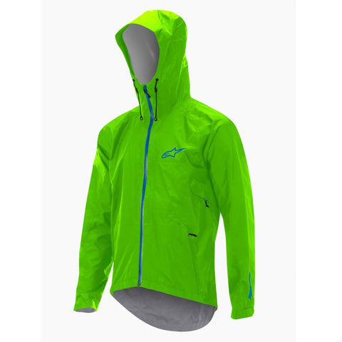 CHAQUETA ALPINESTARS ALL MOUNTAIN (VERDE LIMA/AZUL)