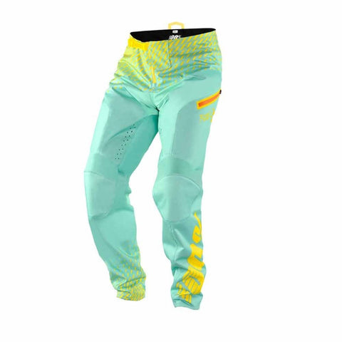 PANTALONES LARGOS DESCENSO 100% R-CORE SUPRA (SEAFOAM/YELLOW)