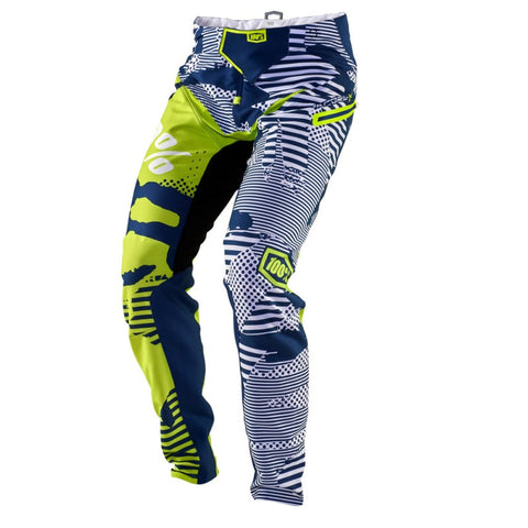 PANTALONES LARGOS DESCENSO 100% R-CORE-X (WHITE/CAMO)