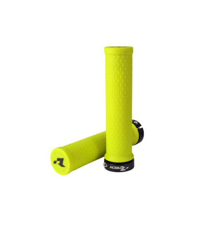 PUÑOS RTECH R20 LOCK-ON (AMARILLO NEON)