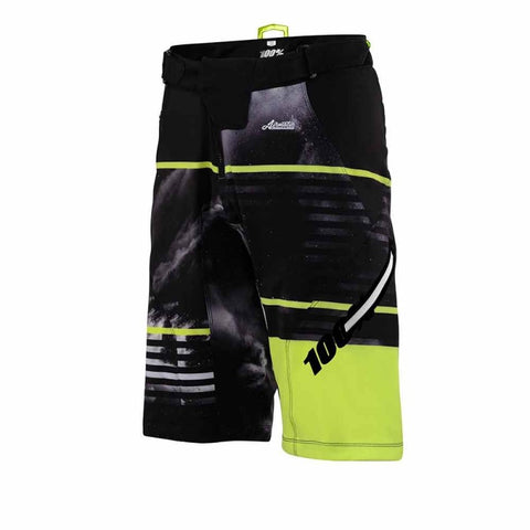 PANTALONES CORTOS 100% AIRMATIC (DUSTED LIME)