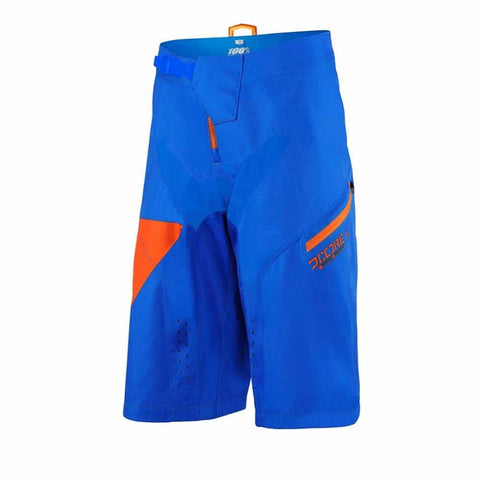 PANTALONES CORTOS DH 100% R-CORE NOVA (ROYAL BLUE)