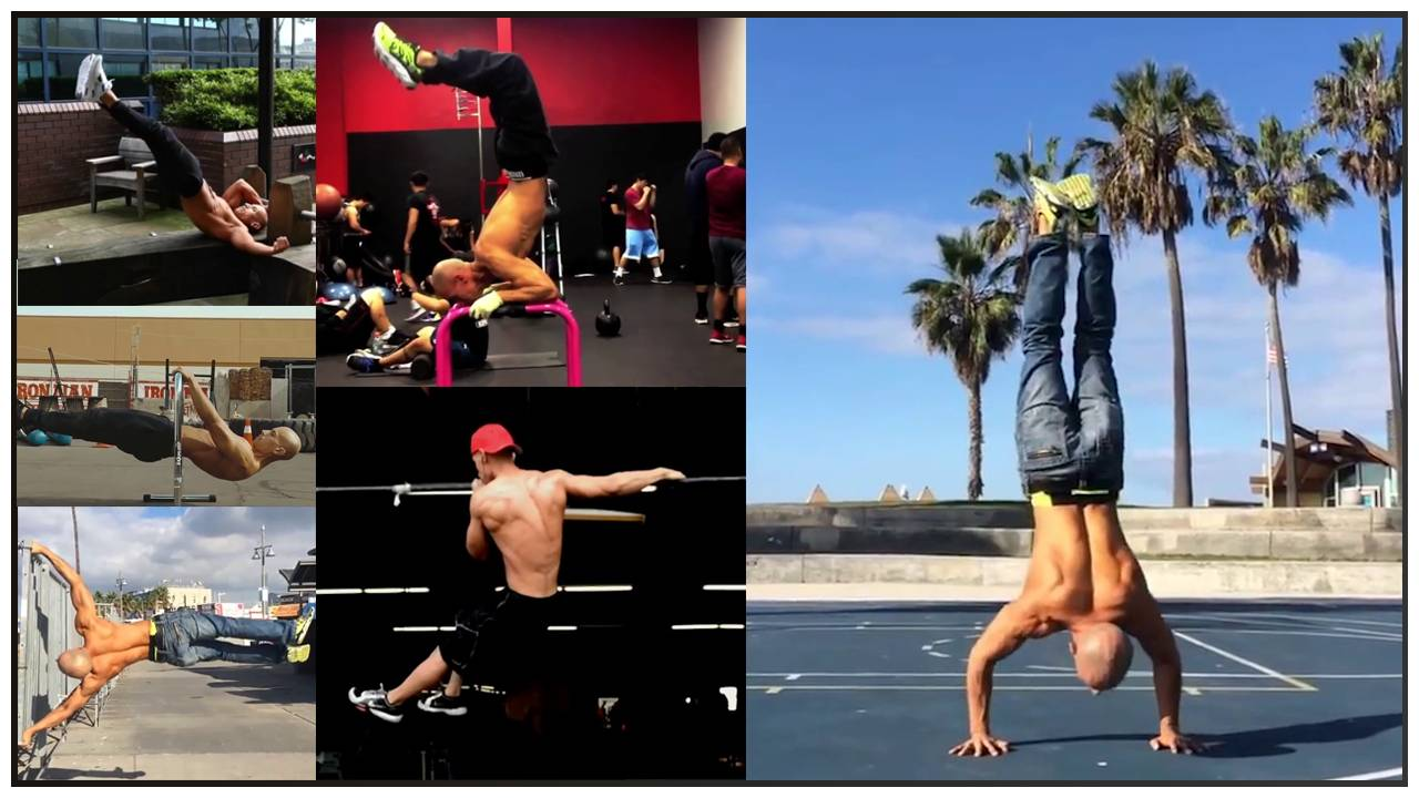 Calisthenics Master Frank Medrano Makes It Look So Easy