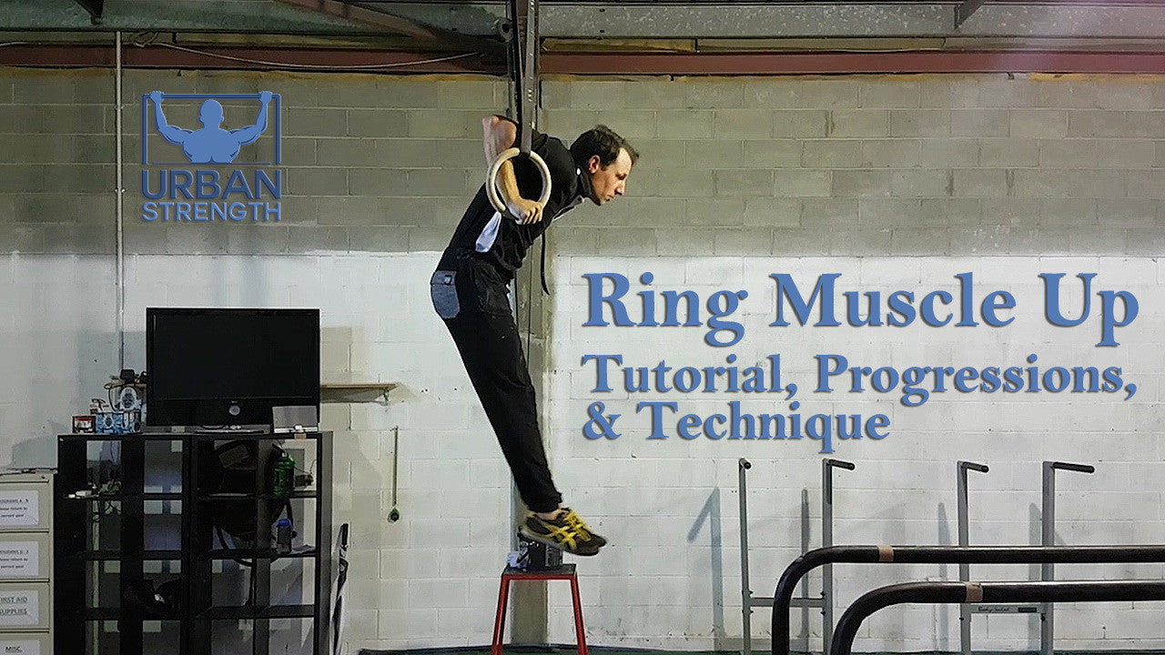 How to Do a Strict Muscle Up on Rings