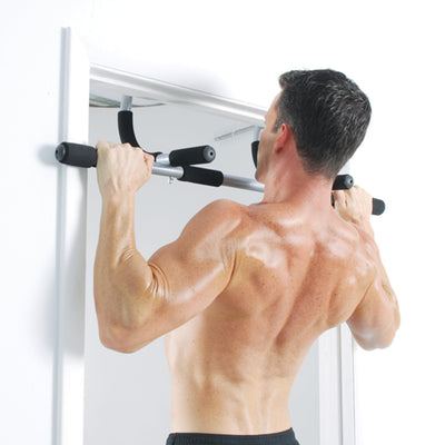 Door mounted pull ups exercise