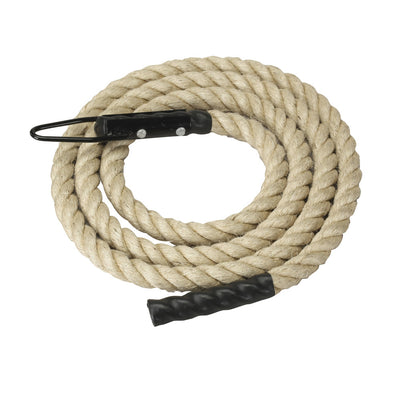 Gym climbing rope for CrossFit, fitness, and strength