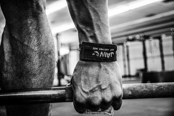 JAW powerlifting grips