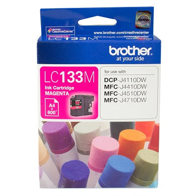 Brother LC-133M  Inkjet Cartridge
