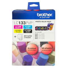 Brother LC-133PVP  Inkjet Cartridge