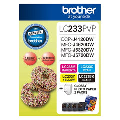 Brother LC-233PVP  Inkjet Cartridge