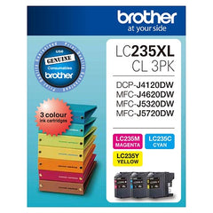 Brother LC-235XLCL3PK  Inkjet Cartridge