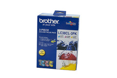 Brother LC-38CL3PK  Inkjet Cartridge