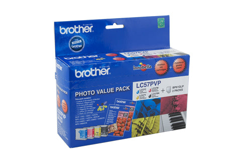 Brother LC-57PVP  Inkjet Cartridge