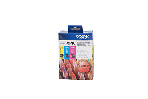 Brother LC-73CL3PK  Inkjet Cartridge