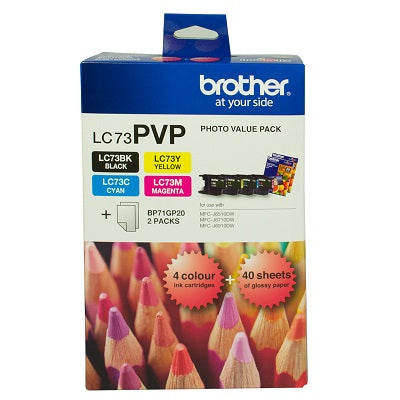 Brother LC-73PVP  Inkjet Cartridge
