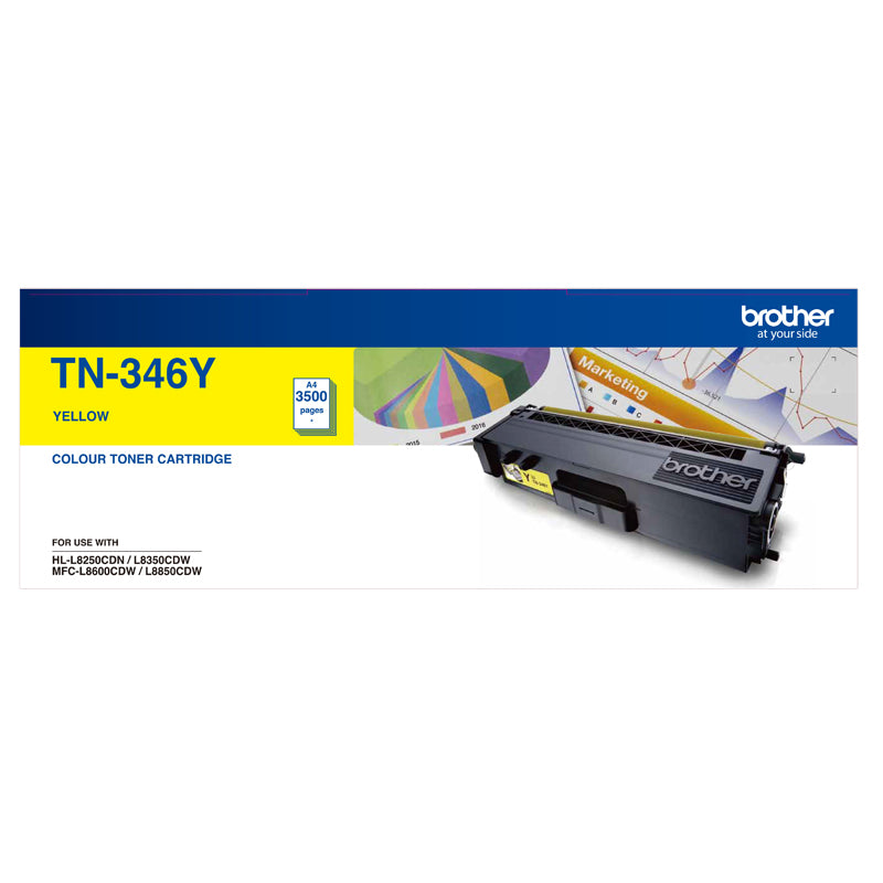 Brother TN-346Y  Toner Cartridge