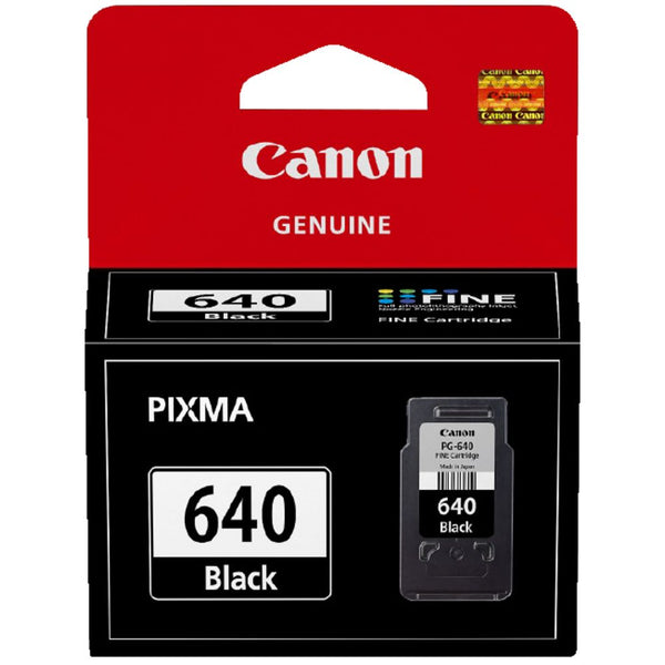 Canon  Genuine PG640 Black Ink Cartridge