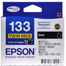 Epson 133 B Twin  Inkjet Cartridge
