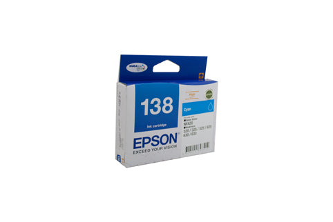 Epson 138 HY C  Inkjet Cartridge