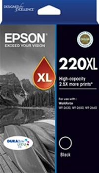 Epson 220 HY B  Inkjet Cartridge