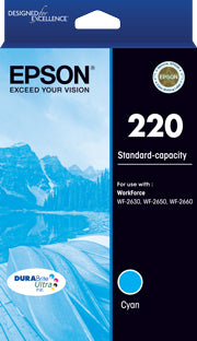 Epson 220 C  Inkjet Cartridge
