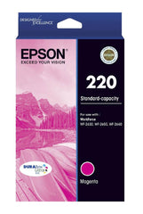 Epson 220 M  Inkjet Cartridge
