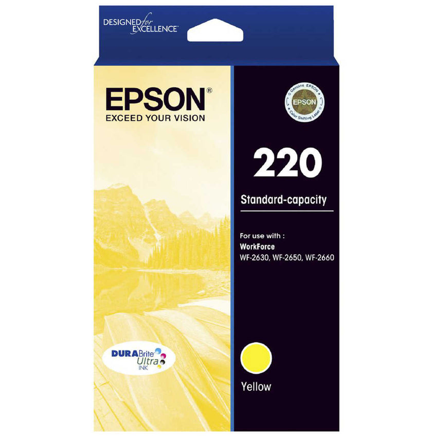 Epson 220 Y  Inkjet Cartridge