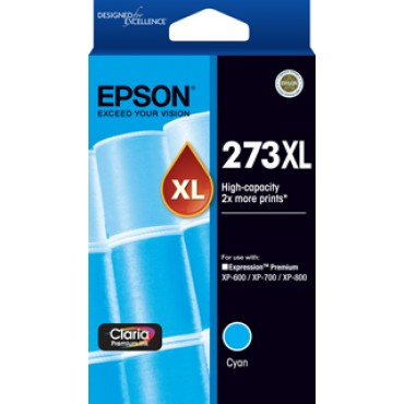 Epson 273 HY C  Inkjet Cartridge