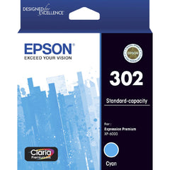 Epson 302 C  Inkjet Cartridge