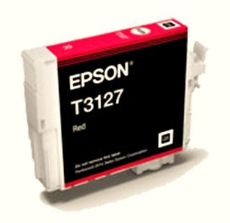 Epson T3127 Red  Inkjet Cartridge