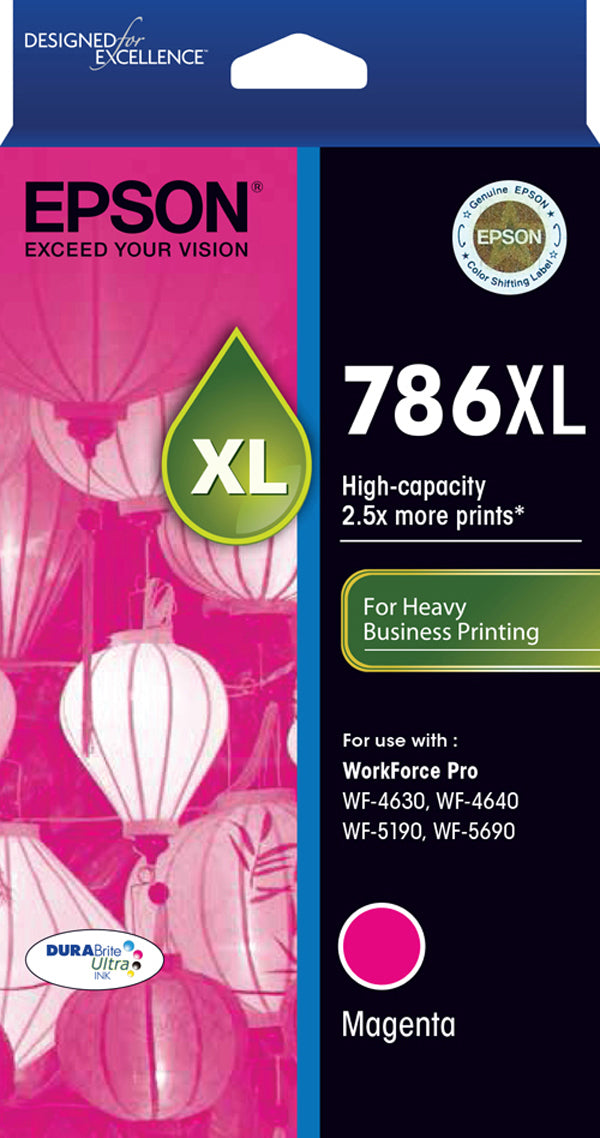 Epson 786XL M  Inkjet Cartridge