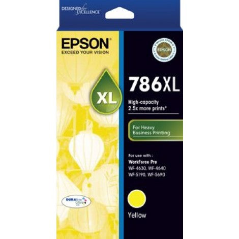 Epson 786XL Y  Inkjet Cartridge