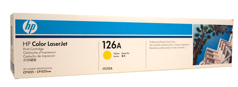 HP CE312A  Toner Cartridge