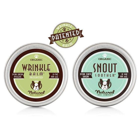 Snout Soother and Wrinkle balm perfect for bulldogs
