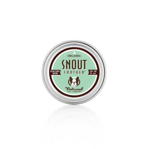 Snout Soother Travel tin heal your dogs dry nose
