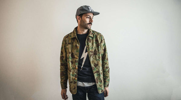 How to Wear It.  The Camo Jacket